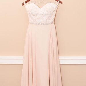 Blush Wedding Dress 💕